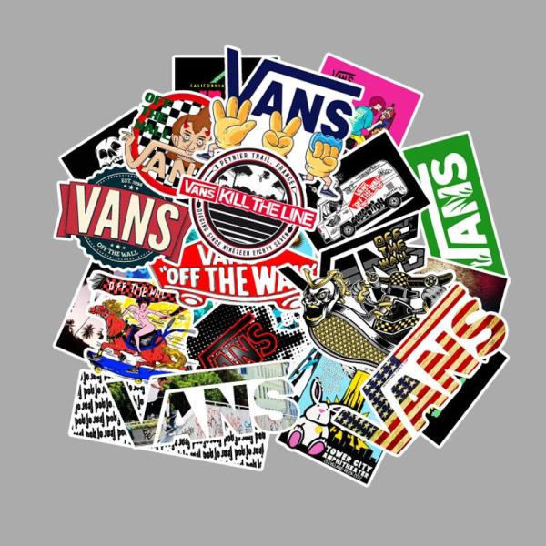 Klistermärken / stickers vans 100 pack