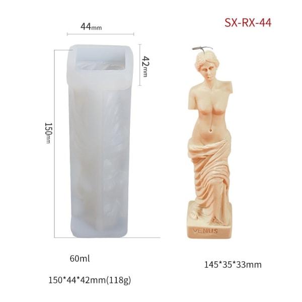 ljusform ljusformar DIY silikonform stearinljus SX-RX-44
