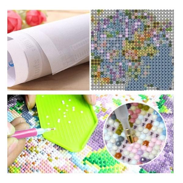 Full 5D DIY Diamond Painting Cross Stitch Björk Grove Mosaic Bro Som på bilden 1