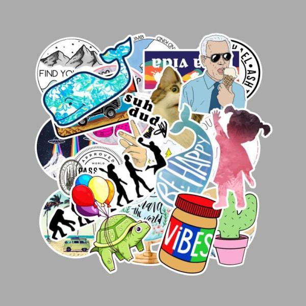 Klistermärken / stickers 103 pack