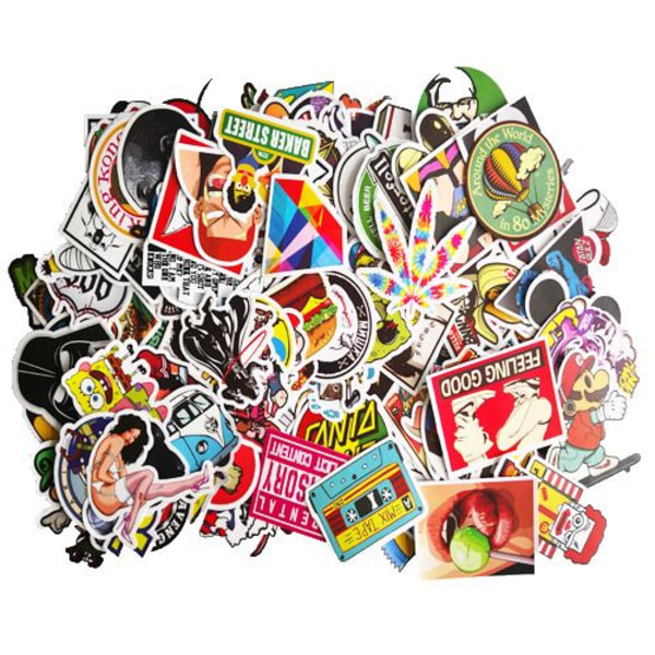 Klistermärken / stickers 200 pack