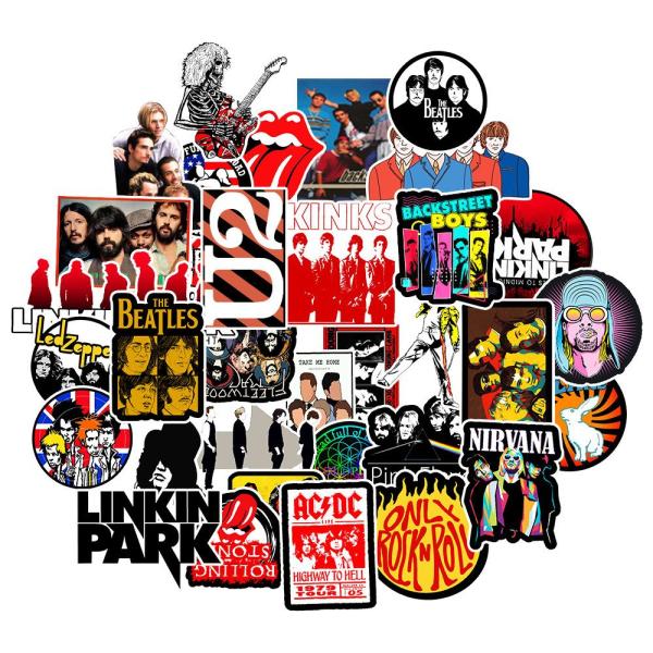 Klistermärken / stickers 50 pack