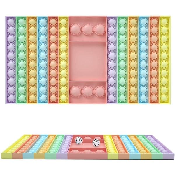 mega / stor fidget toys pop it leksak sensory rektangel 32cm