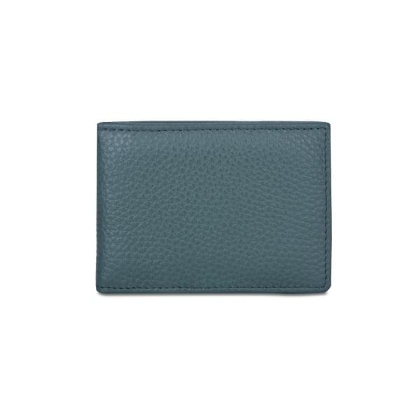 plånbok mobilplånbok plånboks kortplånbok dam Läder grön