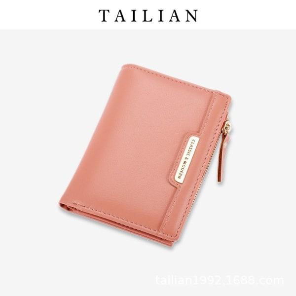 plånbok mobilplånbok plånboks kortplånbok dam PU Läder brun