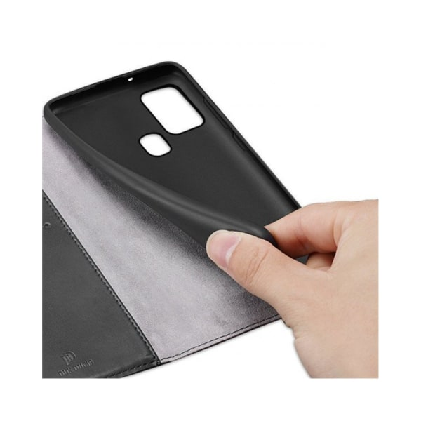 Samsung Galaxy A21s • Plånboksfodral • DUX DUCIS Kado • Svart...