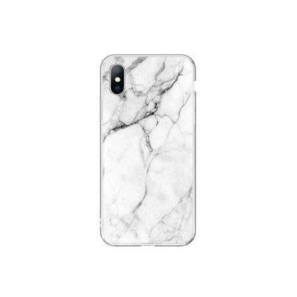 Samsung Galaxy A42 5G • Mobilskal • Marble Case • Vit