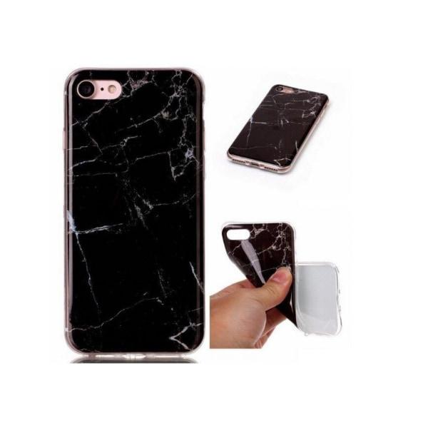 Xiaomi Redmi 9A / 9AT • Mobilskal • Marble Case • Svart