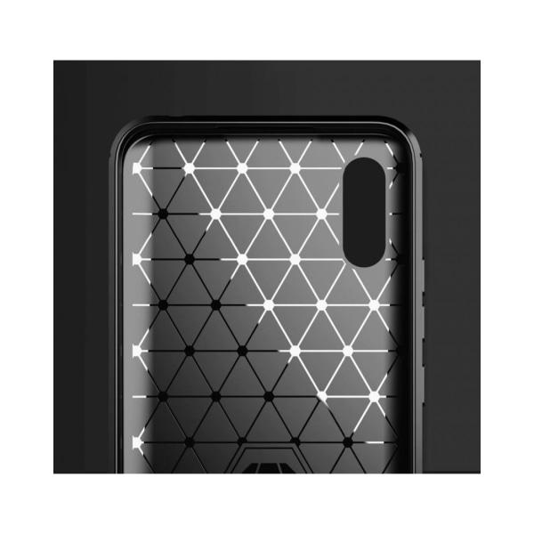 Xiaomi Redmi 9A / 9AT • Mobilskal • Kolfiber design • Svart...