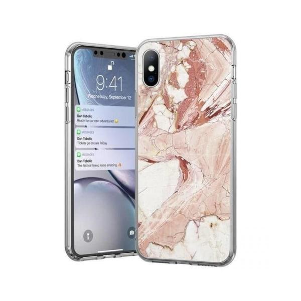 Xiaomi Redmi 9A / 9AT • Mobilskal • Marble Case • Rosa