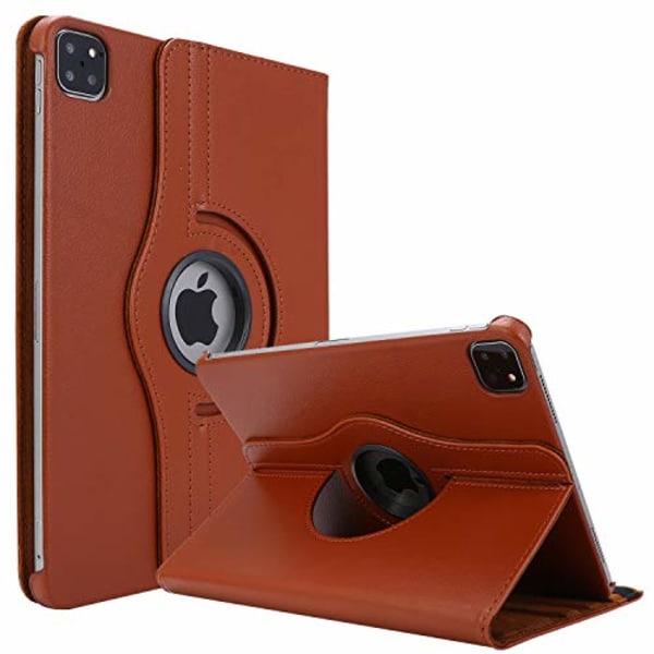 roterandefodral  för iPad Pro 12.9 (2020)brun