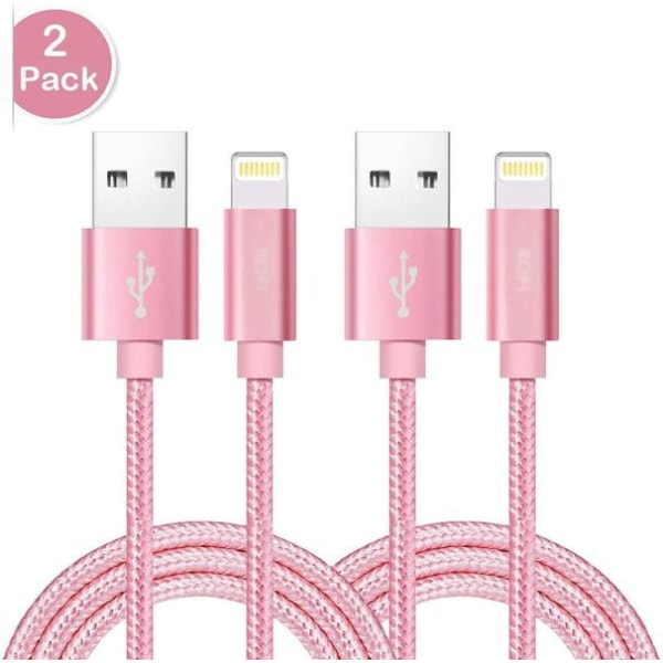 2 st hög kvalite 1 m iphone kabel