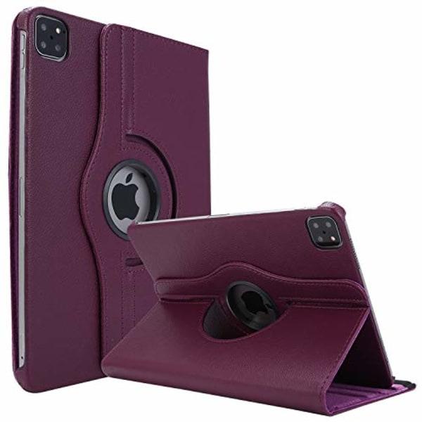 roterandefodral  för iPad Pro 12.9 (2020)lila
