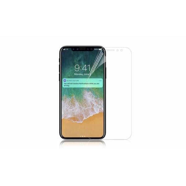 8st iPhone X/XS Skärmskydd Framsida Transparent Clear transparent