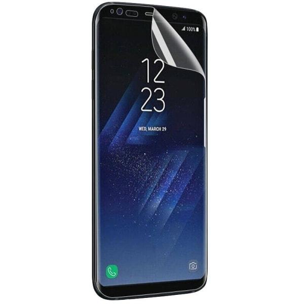 2st Samsung S8 Skärmskydd Plast l Soft l Comfort transparent