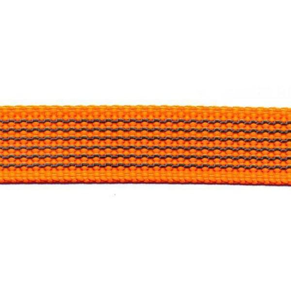 Antiglid koppel med handtag, Orange Karbinhake, 500 cm