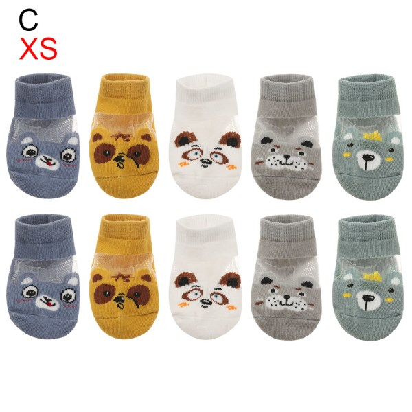 5Pair / lot 0-3Y Baby Baby Socks Boy Girl Socks XS (0-1Y) CC