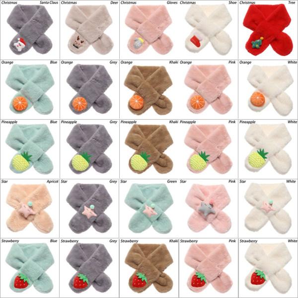 Barns halsdukar Barn sjal Småbarnsduk STRAWBERRY PINK