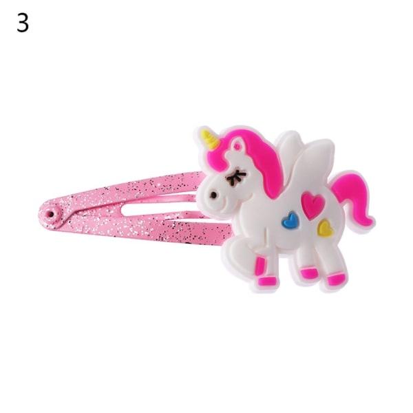 Unicorn Hairpin Girl Hairclip Glitter 3