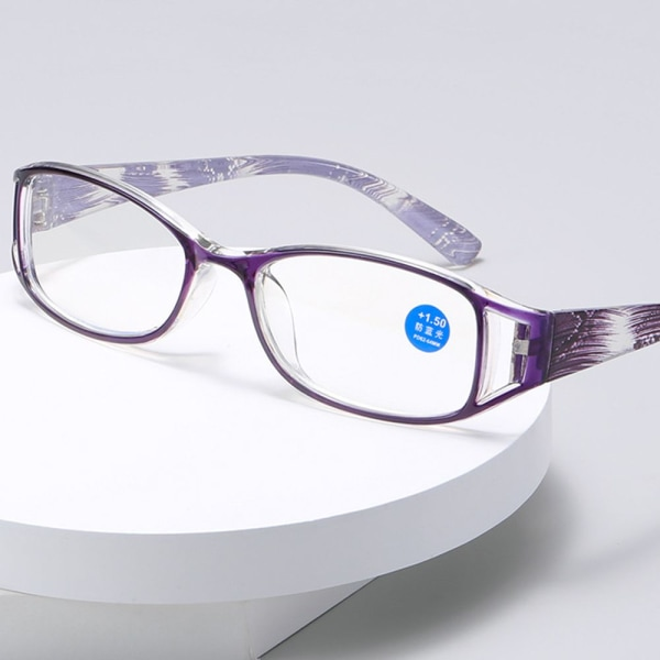 Läsglasögon Anti-blå ljusglasögon BLÅ STYRKA 150