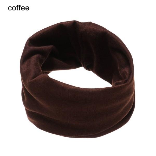 1 st Barn bomull halsduk hals varmare krage halsdukar KAFFE