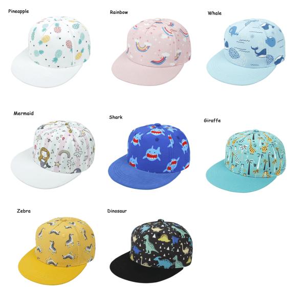 Baseball Cap Sun Hat Flat Brim Hat