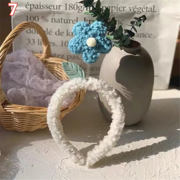 Pannband blommor 7 7 7