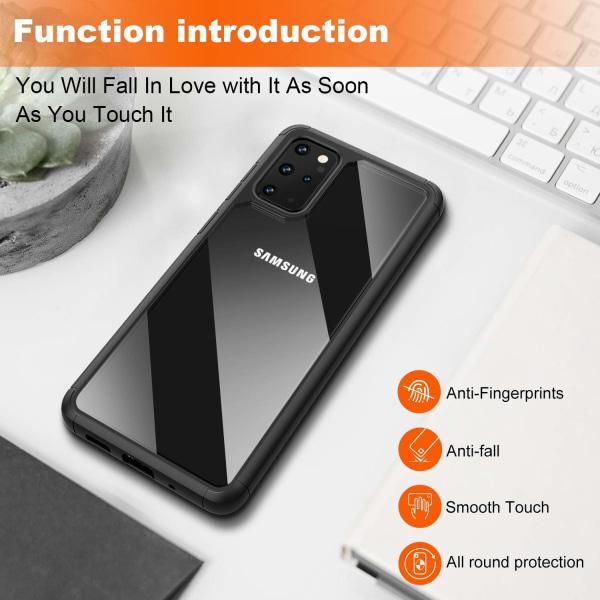 Samsung Galaxy S20 Ultra ShockBlack - Slimmat genomskinligt skal Svart