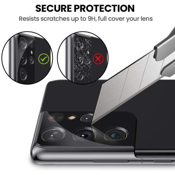 3-pack C4U® Kamera linsskydd i härdat glas för Galaxy S21 Ultra Galaxy S21 Ultra