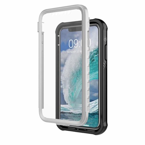 C4U® Shockproof Defence - iPhone 11 - Stötdämpande skal 3i1 Svart