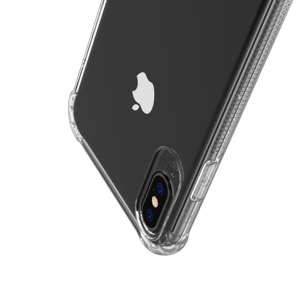 C4U® 2-Pack iPhone XR Shockproof - Slimmat genomskinligt skal
