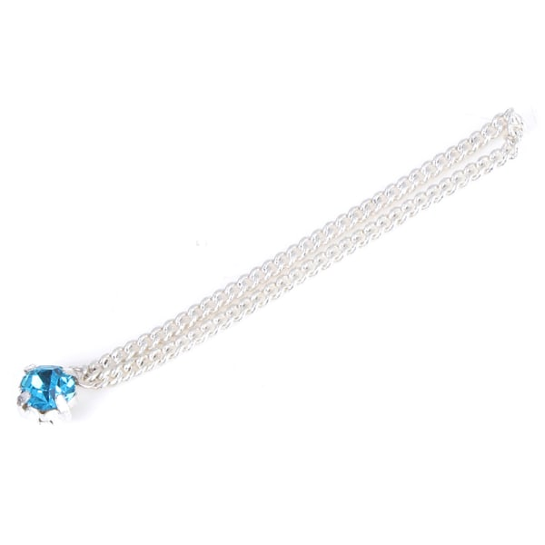 1/6 Scale Actionfigur Tillbehör Halsband Diamond Gem Jewelr