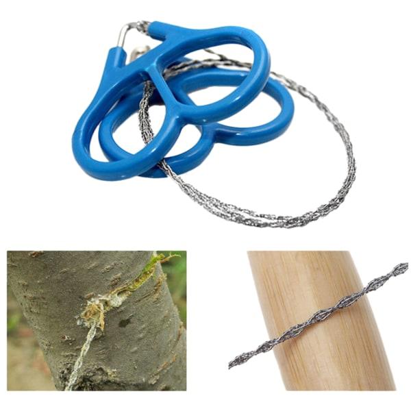 1 st ståltrådsåg utomhus rullning resor camping vandring Hunti