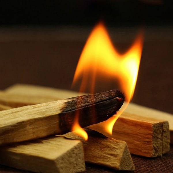 1 st palo santo rökelse pinnar trä smutsig pinne arom