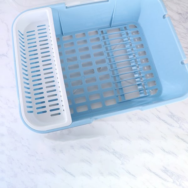 1 st plast diskbänk diskbänk uppsättning tvätthållare ba Blue 38*32*31.5cm