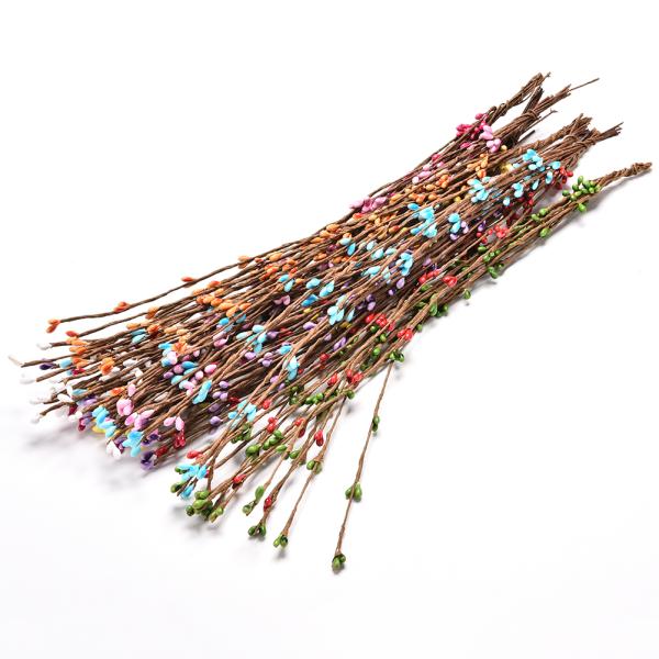 10 st Pretty PIP Berry Stem för Wreath Floral Arrangement Craf