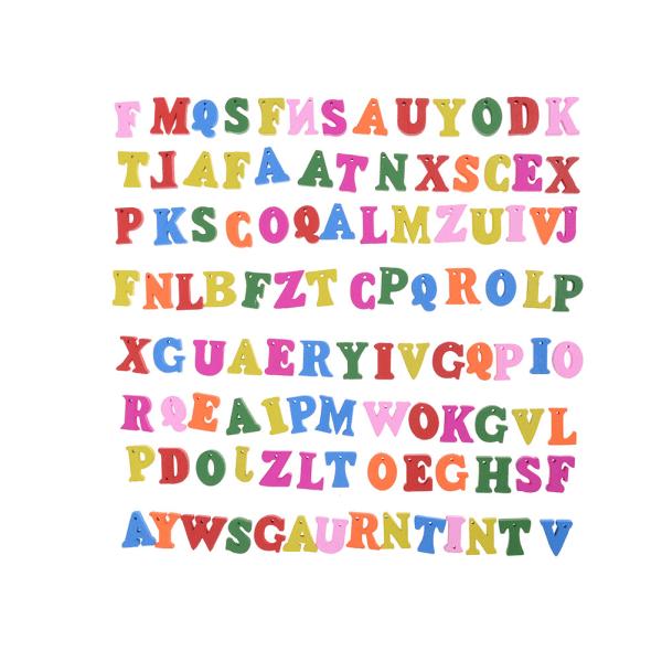 100st bokstäver trä alfabetet utsmyckning Scrapbooking kort