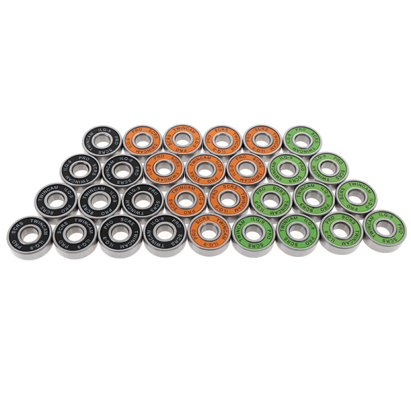 10PC Rostfritt stållager Performance Roller Skate Scooter