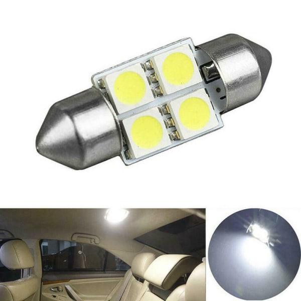 14x bilinteriör paketkarta kupol nummerplåt blandat LED-ljus