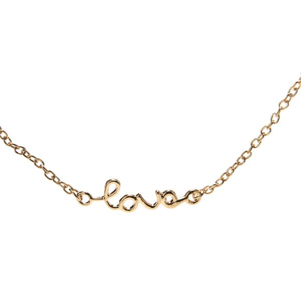 18k guld kärleksbrev mage midjekedjebälte kvinnor strand sommar b