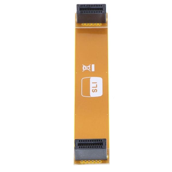 1st Flexibel 80mm SLI Bridge PCI-E-kabel Videokortanslutning