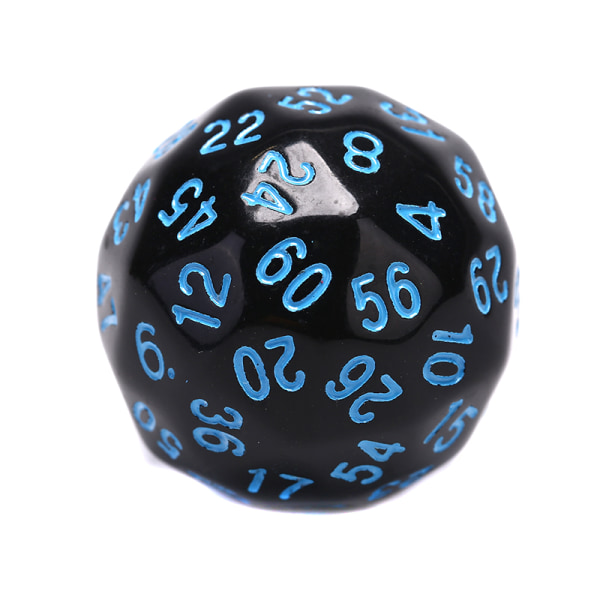 1Pc Game Dice 60 Multi Sided Dice Digital Dice Game Party Enter