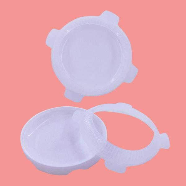 1set rund förmörkelse silikon kakform för mousse glass chif