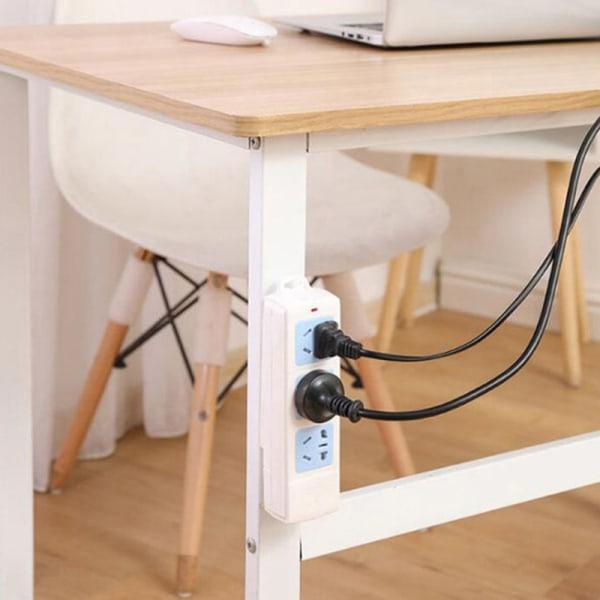 1XPunch Free Plug Sticker Holder Wall Fixer Power Strip Holders