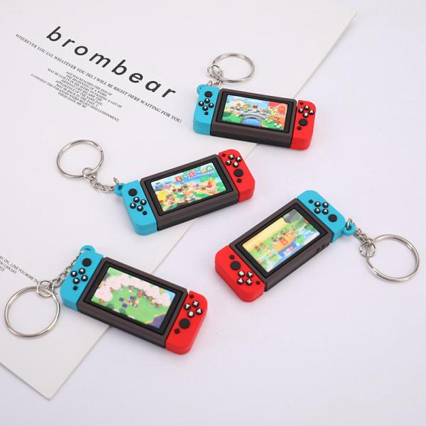 2020 Ny Nintendo Switch Car Nyckelring Mode Mjukt gummi PVC K