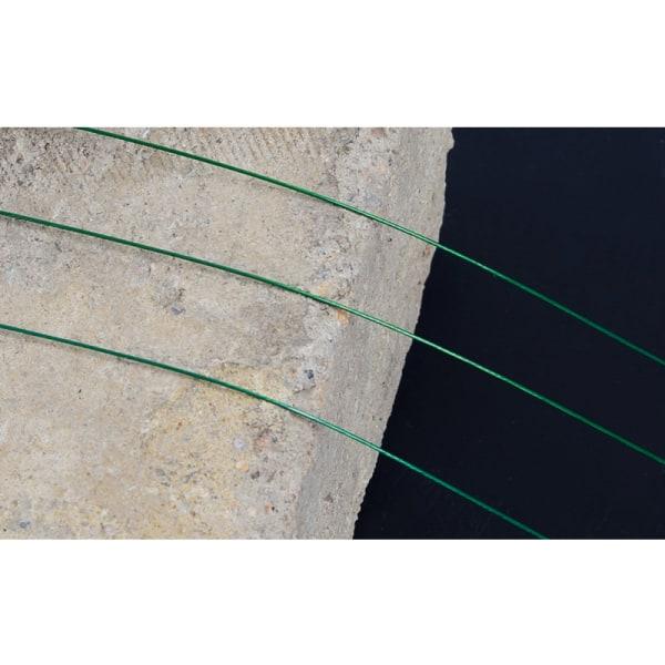 20st Anti Bite Steel Fishing Line Swivel Steel Wire Core Leash