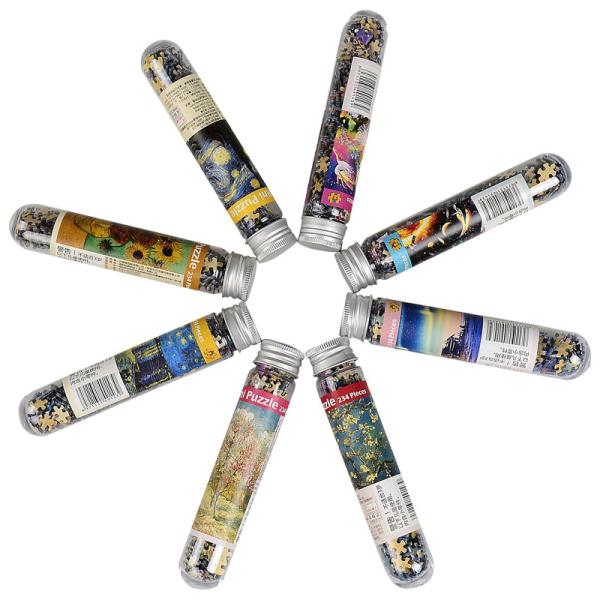 234 bitar multi-typ liggande pusselspel rörförpackning educa C