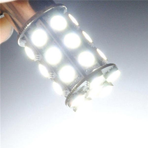 2st 12V LED 1157 Vit BAY15D P21 / 5W 27SMD 5050 Car Tail Brake