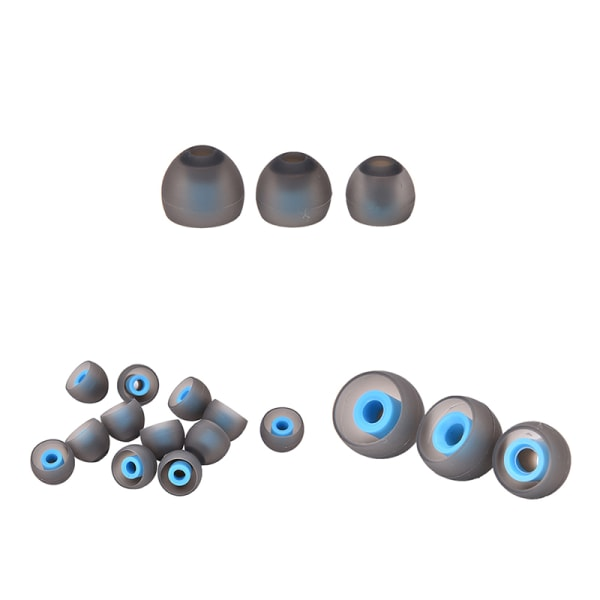 3-par ersättning öronsnäckor hörlurar Bluetooth-hörlurar allmänna bl blue S