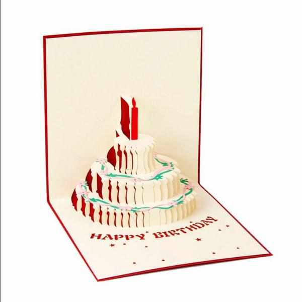 3d pop up gratulationskort handgjorda födelsedag påsk valentine